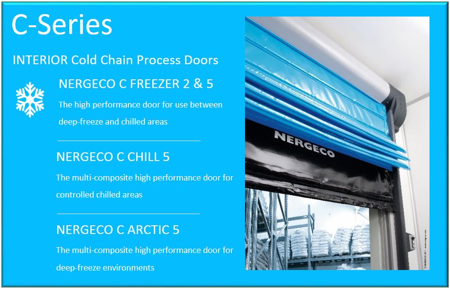 nergeco C series high speed doors - DDL