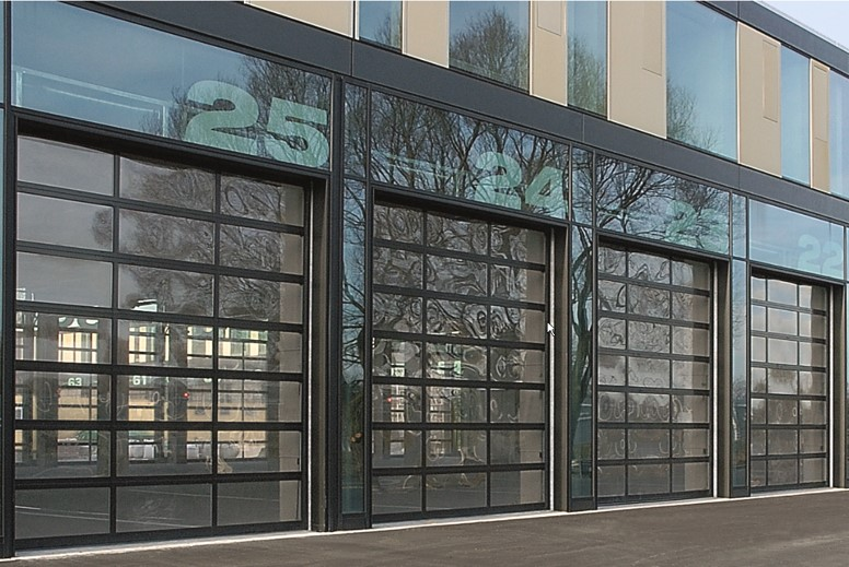 panoramic sectional doors - ddl