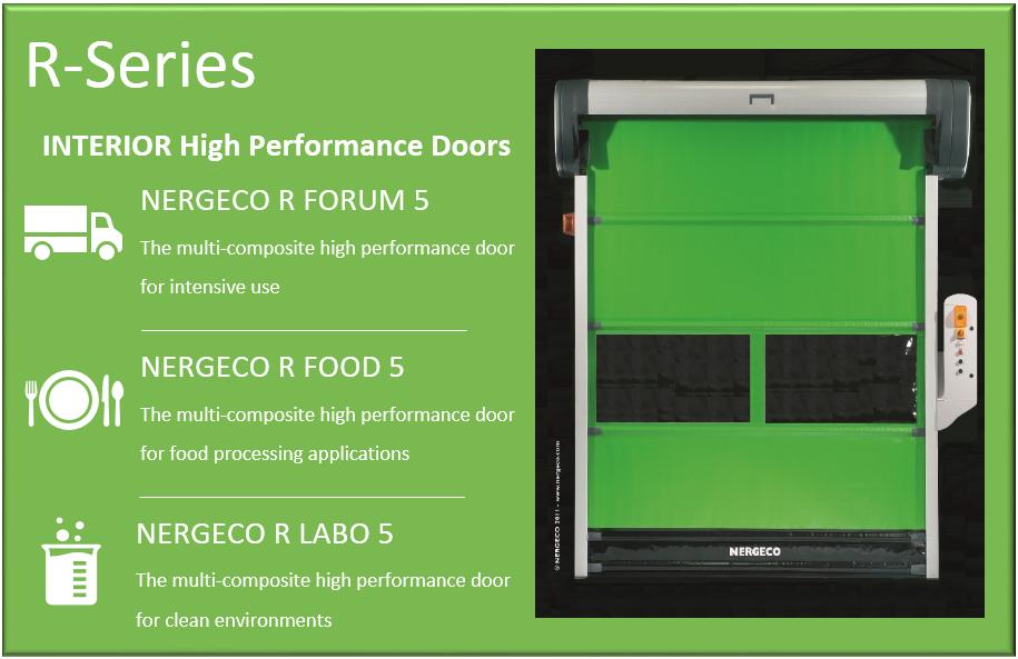 r series high speed doors DDL